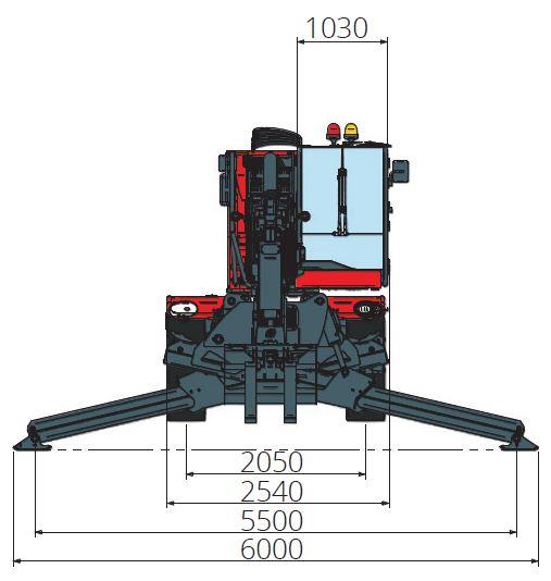Magni RTH 6.39 360° skotbómulyftari