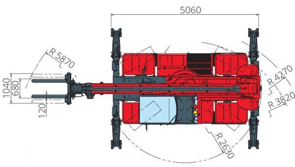 Magni RTH 5.18 360° skotbómulyftari