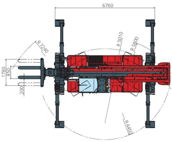 Magni RTH 13.26 360° skotbómulyftari