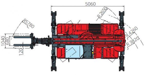 Magni RTH 5.21 360° skotbómulyftari