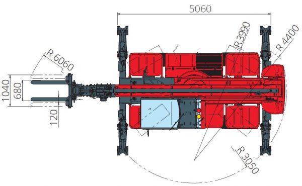 Magni RTH 5.23 360° skotbómulyftari