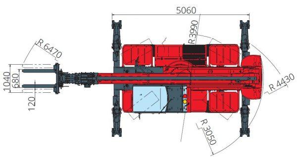 Magni RTH 5.25 360° skotbómulyftari