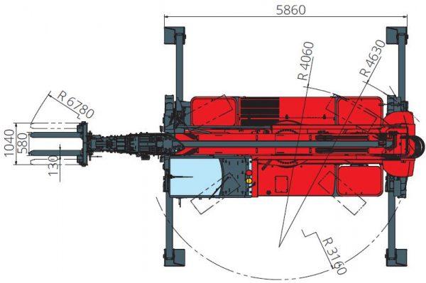 Magni RTH 6.35 360° skotbómulyftari